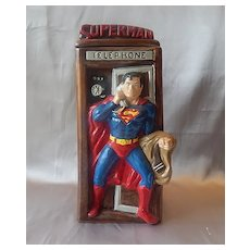 California Originals Superman Cookie Jar