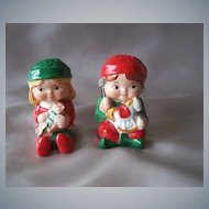 Avon Ceramic Salt And Pepper Shakers