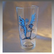 Pepsi Road Runner  Character Glass