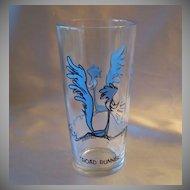 Pepsi Road Runner  Character Glass