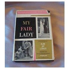 My Fair Lady Musical Play Book