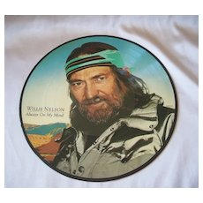 Willie Nelson Always On My Mind Picture Record Album