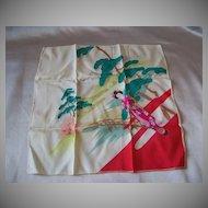 Oriental Lady Handkerchief  / Hankie