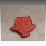 Hallmark Cards Halloween Owl Cookie Cutter 1973
