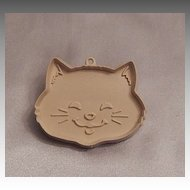 Hallmark Cards Kitty Cat Head Cookie Cutter