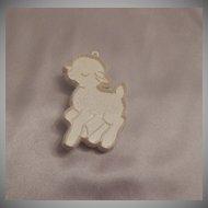 Hallmark Cards Running Lamb Cookie Cutter