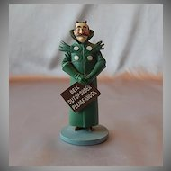 Franklin Mint Wizard Of Oz Guardian Of The Gate Figurine