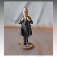 Franklin Mint Wizard of Ox Professor Marvel Figurine