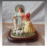 Maud Humphrep Kitty's Bath Figurine