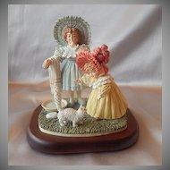 Maud Humphrep Kitty's Bath Figurine