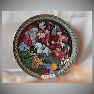 Bing & Grondahle 1989 Christmas Plate