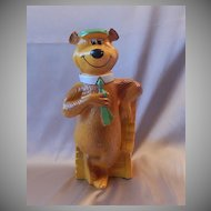 Homecraft Hanna Barbera Production Yogie Bear Bank