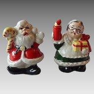 Santa Claus & Mrs. Claus  Salt & Pepper Shakers Japan