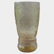 Federal Glass Amber Madrid Tumbler