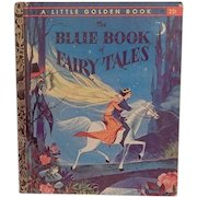 Little Golden Book The Blue Book of Fairy Tales A edition