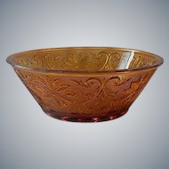 Indiana Tiara Exclusives Amber Serving Bowl