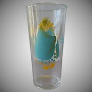 Haunty Hanna Promotional Character Glass
