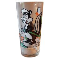 Pepsi Pepe Le Pew & Daffy Duck Glass