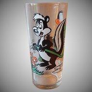 Pepsi Pepe Le Pew & Daffy Duck Glass