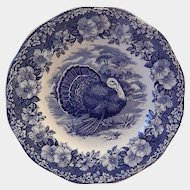 Wedgwood Turkey Dinner Plate