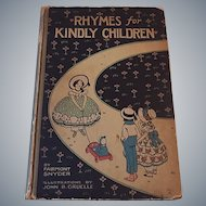Rhymes for Kindly Children with Illustrations by Gruelle