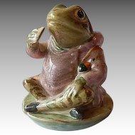 Beatrix Potter Beswick Mr. Jeremy Fisher Figurine