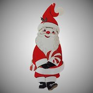 Henri Fayette Santa Claus Hanging Christmas Greeting Card