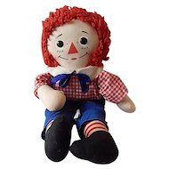 Knickerbocker Raggedy Andy Cloth Doll