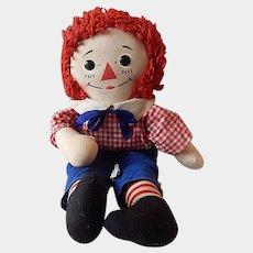 Knickerbocker Raggedy Andy Cloth Doll