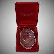 Waterford Crystal Twelve Days of Christmas Swan Ornament