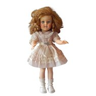 "Ideal Toys 15"" Shirley Temple Doll"