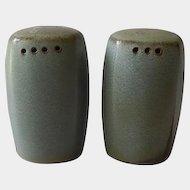 Frankoma Pottery Plainsman Woodland Moss Shakers