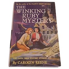 A Dana Girls Mystery The Winking Ruby Mystery