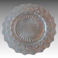 Fostoria Glass American Crystal  Dinner Plate