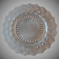 Fostoria Glass American Crystal  Dinner Plate