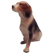 Ceramic Beagle Dog Figurine