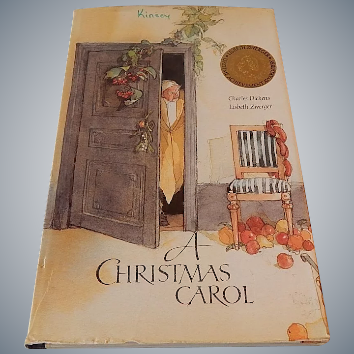 When Was A Christmas Carol Written.A Christmas Carol Charles Dickens Lisbeth Zwerger