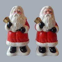 Hand Painted Santa Claus Shakers