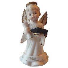 Lefton Graduation Angel Figurine