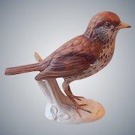 Goebel Wood Thrush Bird Figurine 1976