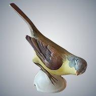 Goebel Yellow Wagail Bird Figurine
