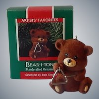 Hallmark Keepsake Ornament Bear-I-Tone