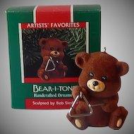Hallmark Keepsake Ornament Bear-I-Tone