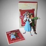 Hallmark Keepsake Dorothy And Scarecrow Ornament