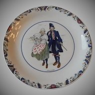 Rorstrand Swedish National  Costumes Smaland Plate