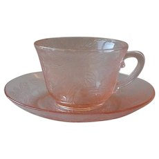 MacBeth-Evan Pink Cup and Saucer
