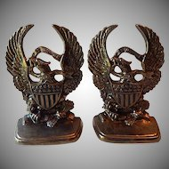 Pair of Americann Eagle Bookends