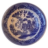 Japanese Blue Willow Cereal Bowl