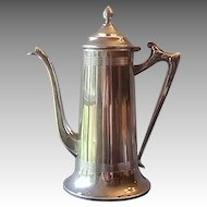 Sheffied Plate Chocolate / Coffee Pot U.S.A.