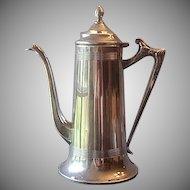 Sheffied Plate Chocolate / Coffee Pot U.S.A.